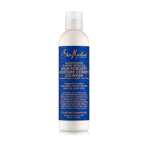 Shea Moisture - Mongongo & Hemp Seed Oils High Porosity Moisture-Seal Co-Wash - 8oz