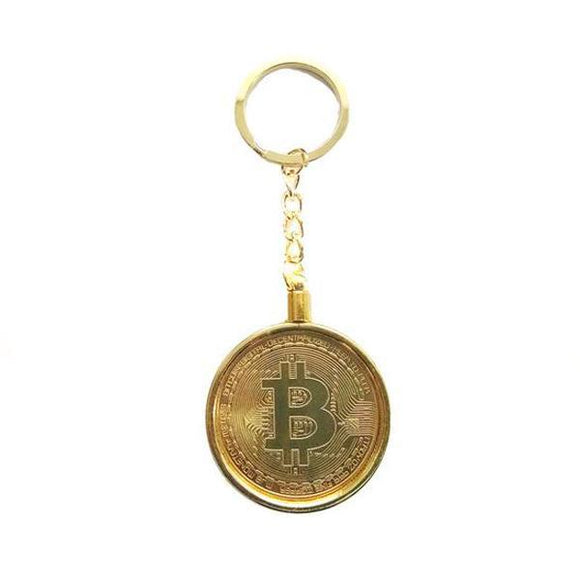 Metal Bitcoin Keychain - General Crypto Store