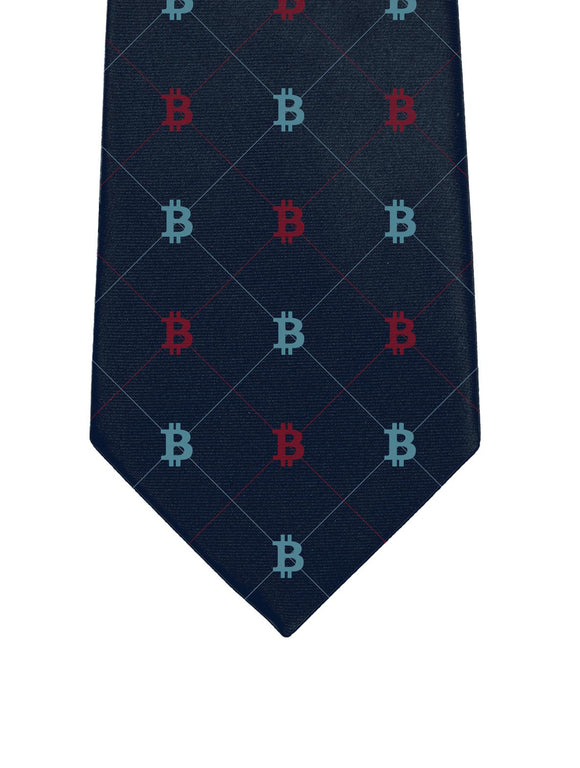 M&T Bitcoin Tie - General Crypto Store