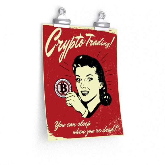 Crypto Trading Poster - General Crypto Store