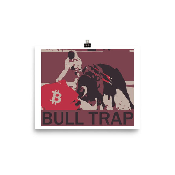Bull Trap Poster - General Crypto Store