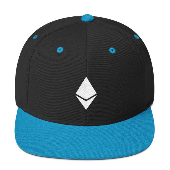 ETH Symbol Snapback Hat - General Crypto Store