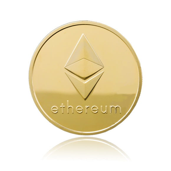 Metal Ethereum Coin - General Crypto Store