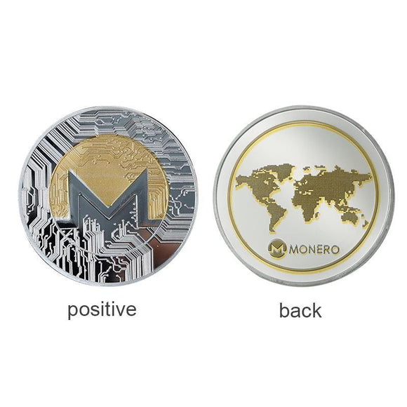Metal Monero Coin - General Crypto Store