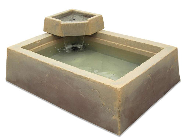 "DekoRRa Garden Box & Water Basin , Model 210, 62""x 46""x 16"""