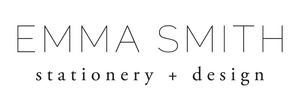 Emma Smith Event Stationery