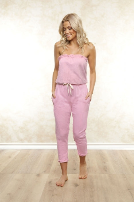 FLETCH Harper Strapless Jumpsuit
