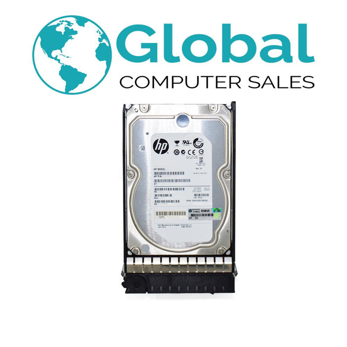 "HP 300GB 15K 3.5"" Dual-Port SAS 488060-001 DF0300B8053 HDD Hard Drive - G7 Tray HPE"