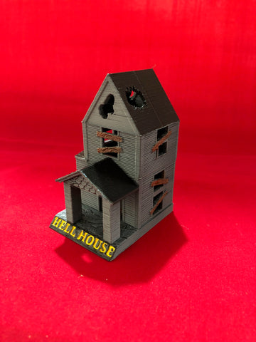"Deadpool Custom ""HELLHOUSE"" illuminated villain lair!"