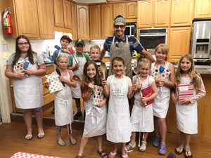 July 16 - 18, Kid's Cooking Camp - Advanced Class