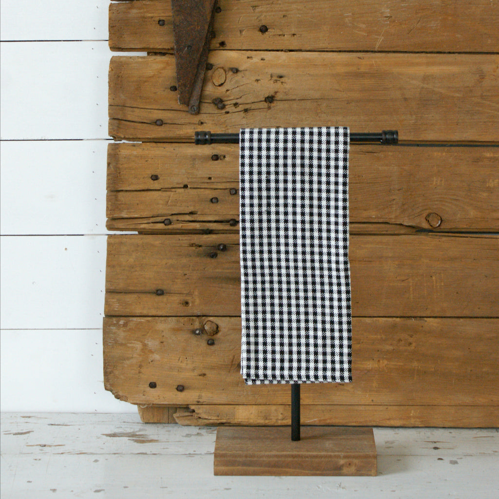 Textured Gingham Towel