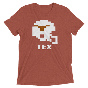 Texas Longhorns | Tecmo Bowl Helmet Shirt
