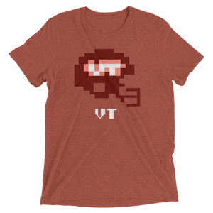 Virginia Tech | Tecmo Bowl Helmet; CLay
