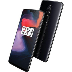 Oneplus 6 128GB Dual Black Unlocked Refurbished Pristine Pack