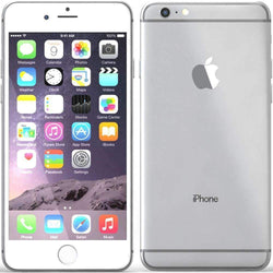 Apple iPhone 6 Plus 128GB Silver Unlocked - Refurbished Very Good Sim Free cheap