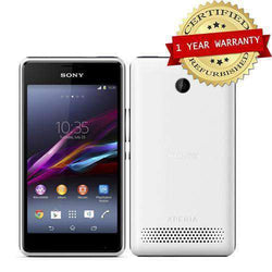 Sony Xperia E1 4GB White - Refurbished Sim Free cheap