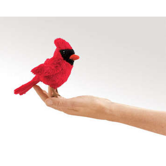 mini Cardinal - Finger Puppet