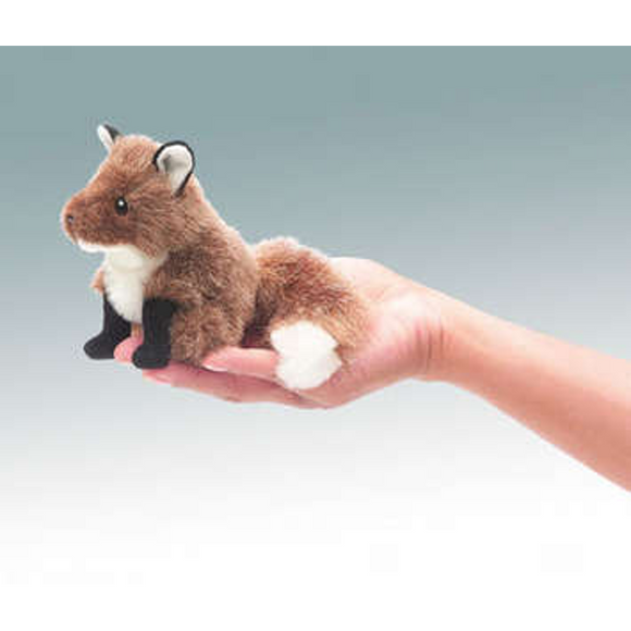 mini Fox - Finger Puppet