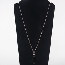 Pendant Stainless Steel long necklace