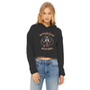 Meöwtorhead Women's Cropped Raw Edge Hoodie