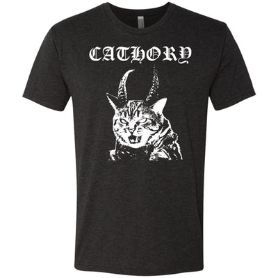 Cathory (white) T-Shirt-Apparel-Brutal Kittens