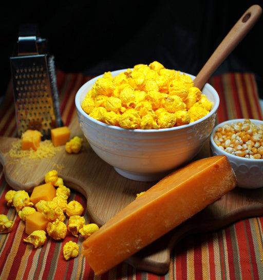 Just Poppin Popcorn - Pleasy Cheesy Popcorn