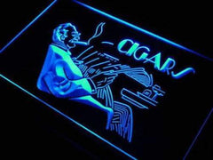 Cigar Lounge LED Neon Light Sign
