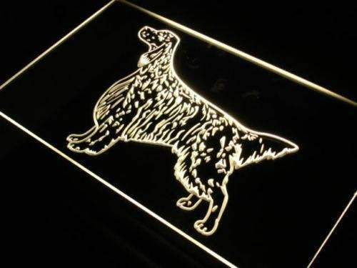 English Setter LED Neon Light Sign - Way Up Gifts