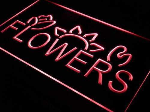 Flowers LED Neon Light Sign - Way Up Gifts