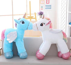 Giant Unicorn Stuffed Animal w/ Wings