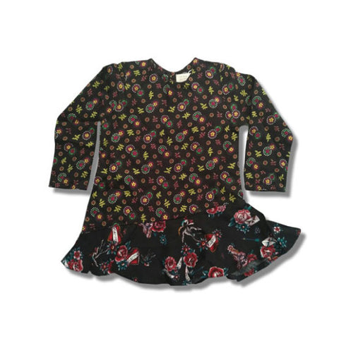 GIRL'S FLORAL FROCK | C4 (3M-4Y)