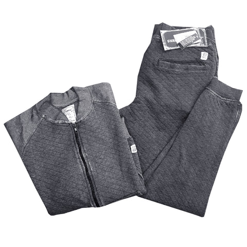 MEN'S QUILTED LUXURY SET | JACKET+TROUSER | REQUEST