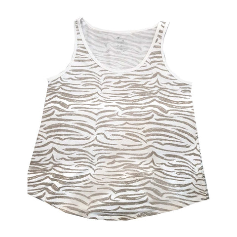 LADIES ZEBRA SKIN TOP| GAP