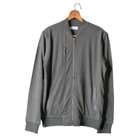 MEN'S CLASSIC FIT BOMBER JACKET|ZARA