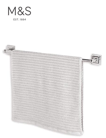 QUICK DRY RIBBED BATH TOWEL | M&S HOME