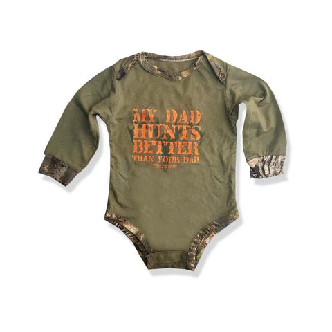 BOY'S HUNT ROMPER |FIELD & STREAM-(0M-24M