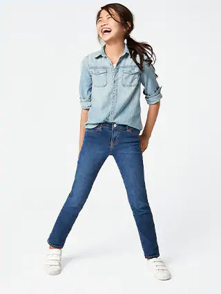 GIRLS SKINNY JEANS | IN EXTENSO-(2Y-16Y)