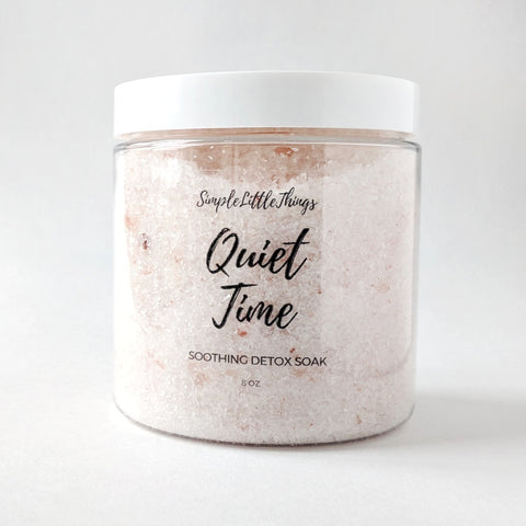 Quiet Time Bath Soak 8 oz