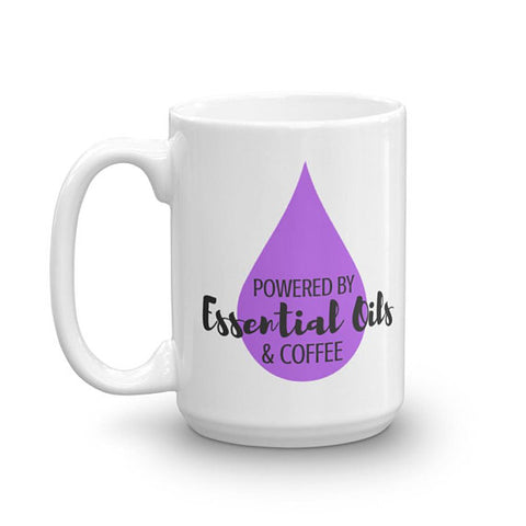 Running on Coffee and Essential Oils - Essential Oil Mug