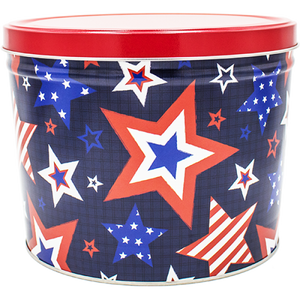 Murica Happy 4th of July - Popcorn Gift Tin - Kettle Heroes Artisan Popcorn