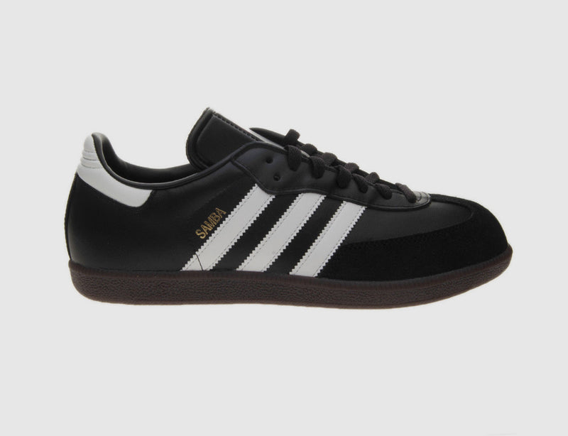 Samba Black Leather