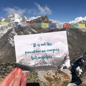 From the City to the Mountains: AURA QUE trekking in the Himalayas!