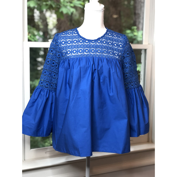 Blue Bell Sleeve Top