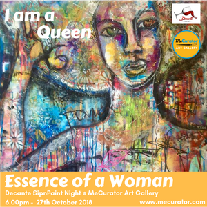 Decante SipnPaint Night - Essence of a Woman: Saturday 27th October, 7pm