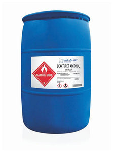 Denatured Ethanol 200 Proof, SDA 3A Ethanol, Denatured Alcohol, 55 Gallon Drum, Poly