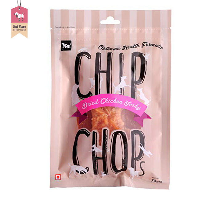 Chip Chops - Dried Chicken Jerky