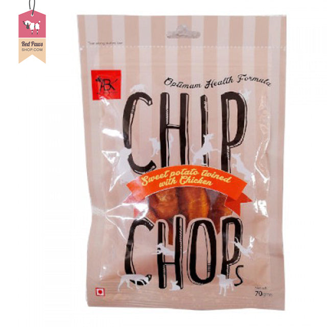 Chip Chops - Sweet Potato Twined with Chicken