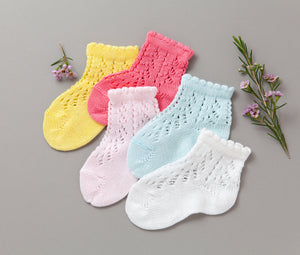 Crochet Ankle Socks Bundle