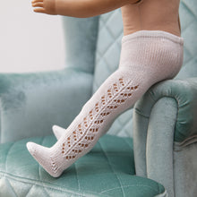 Handmade Doll Tights, White