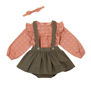 Anemone Blouse & Skirt Set